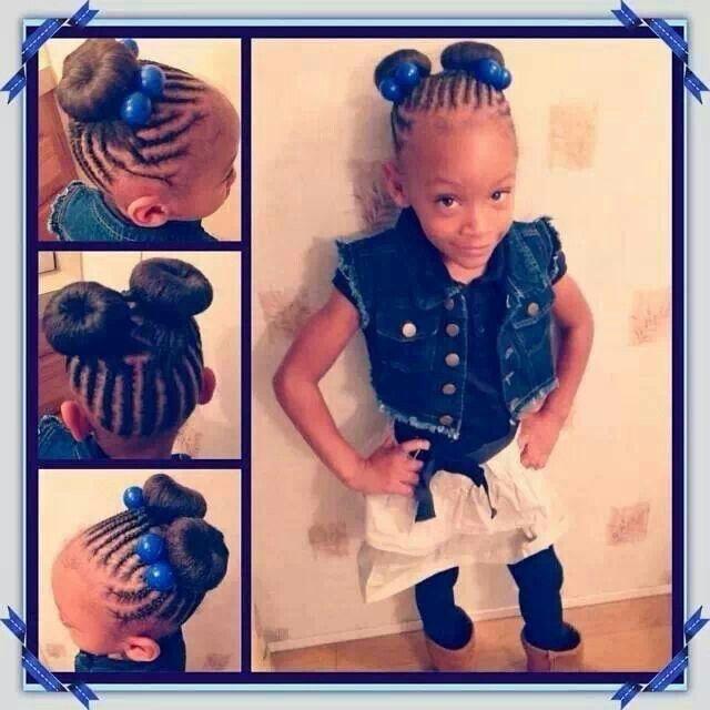 black girl wedding hairstyles : Black Girl braid bun hair Hair prepare ideas Pinterest
