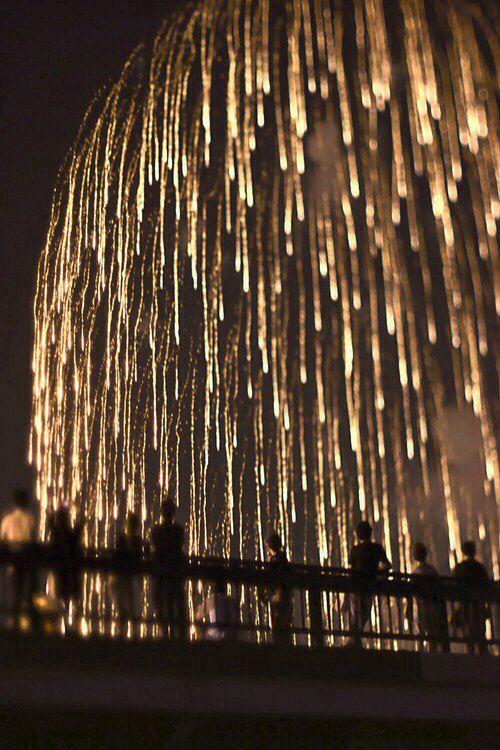 fireworks - lights