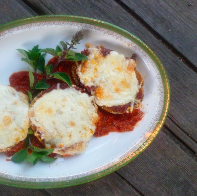 Eggplant Parmesan, Gluten Free | Yummi~Freaki~Licious | Pinterest