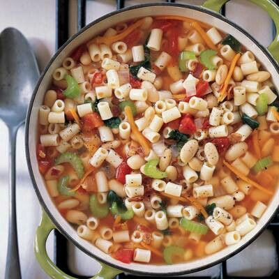 Pasta and bean soup | Recipes | Pinterest