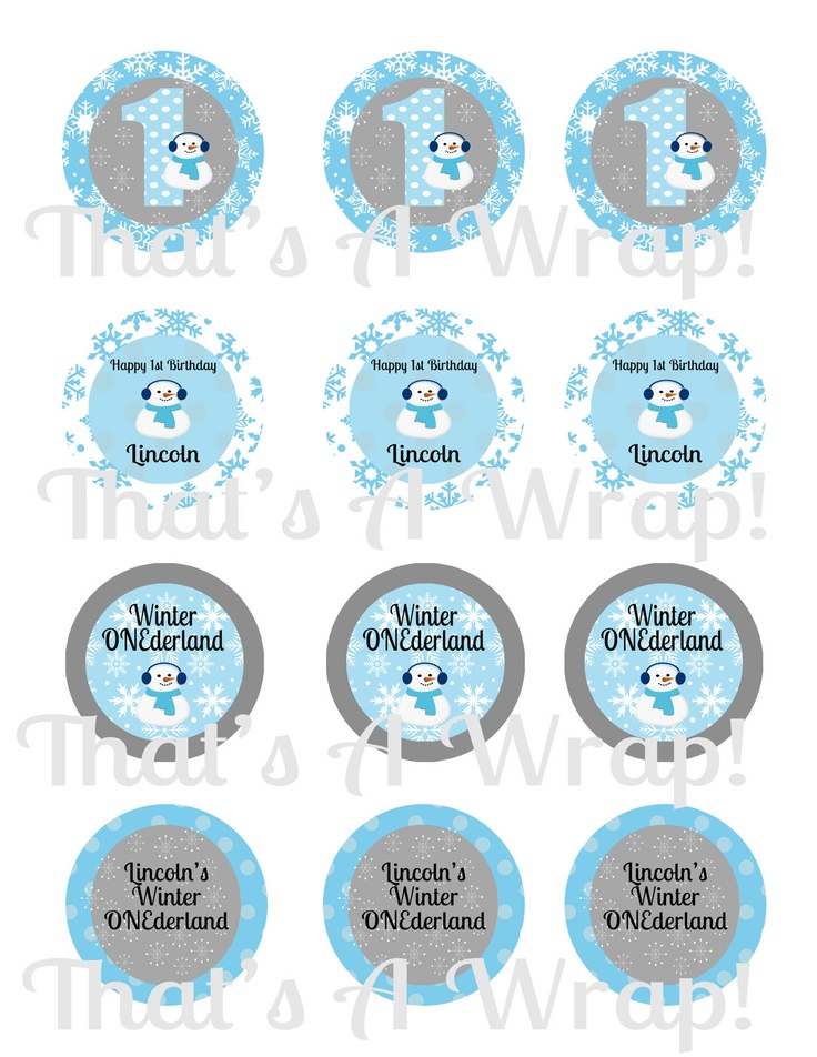 First Birthday Cupcake Toppers HUELE 24PCS One1st Birthday Cupcake