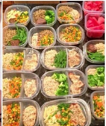 Meal Prep!  Meal Prep Ideas  Pinterest