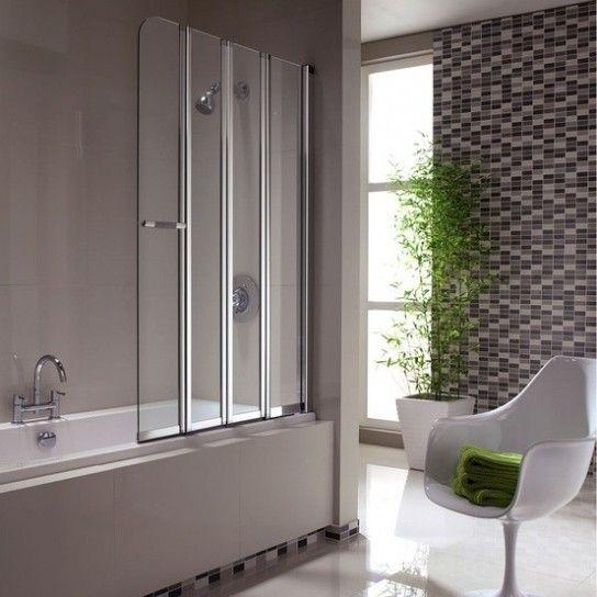 Diseno De Baños Pequenos Modernos:Folding Bath Screen