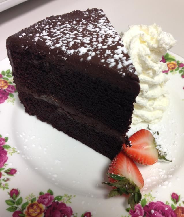 Guinness Chocolate Cake - yes, it tastes as good as you think ...