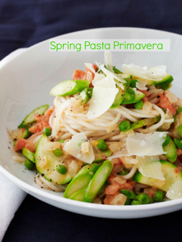 Spring Pasta Primavera   Recipe