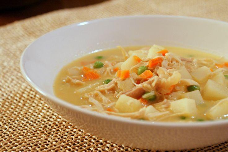 Chicken Pot Pie Soup | Soups | Pinterest