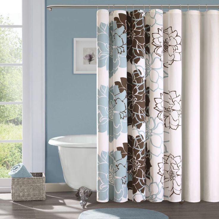 blue and brown bathroom decor new house ideas pinterest