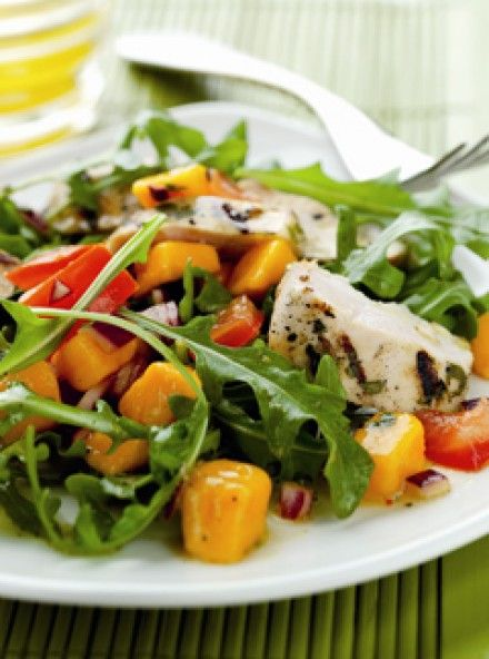 Marinated Chicken and Mango Salad | Marie Claire