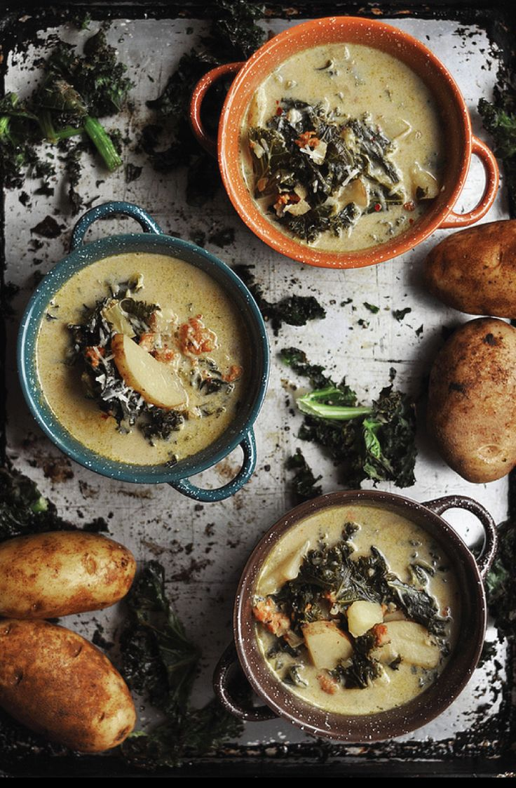 Spicy Sausage, Kale and Potato Soup Recipe   ABCD Design