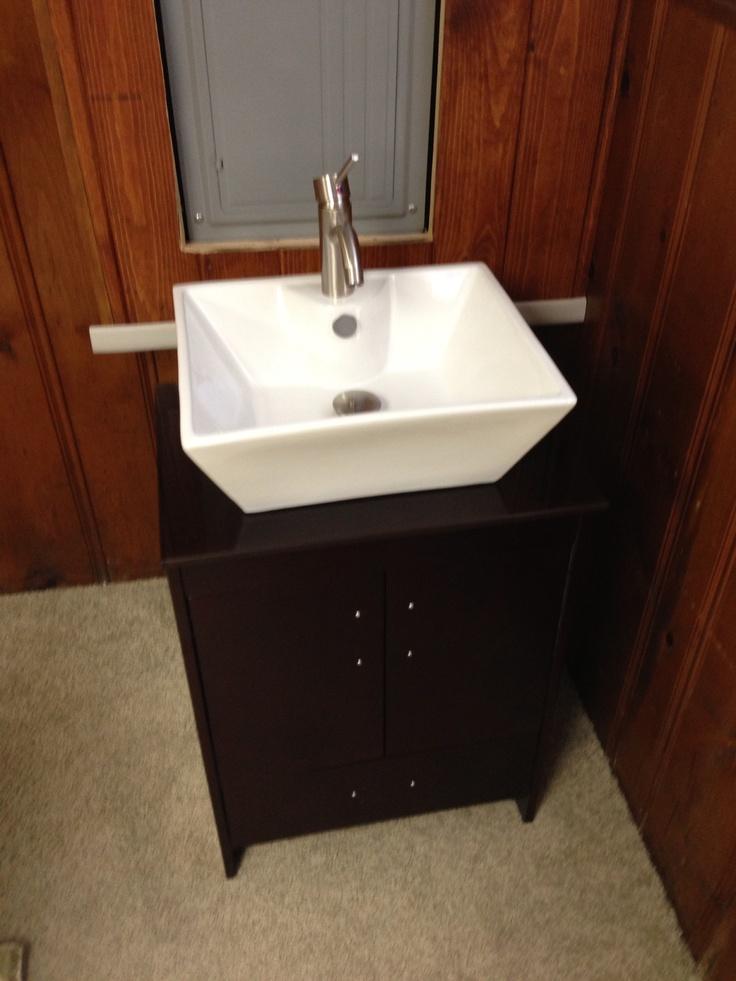 Basement Sinks : My new sink waiting for basement Reno Basement Remodel Pinterest
