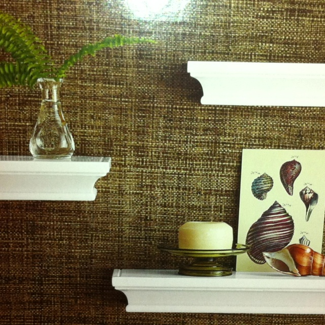 Textured wallpaper for bathroom