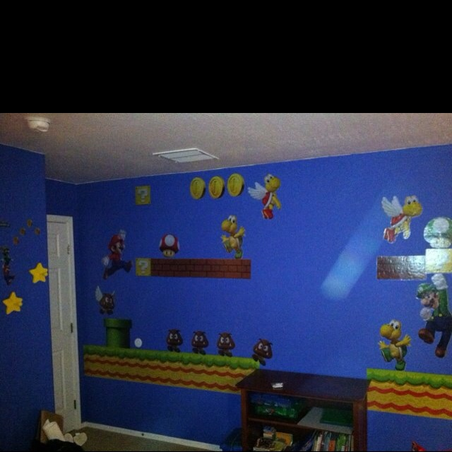 super mario bedroom kids rooms pinterest