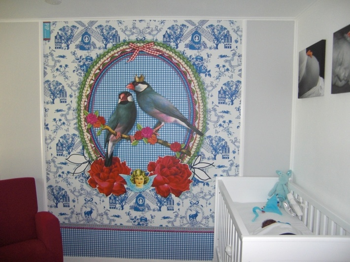 Babykamer Pip Behang Behang Wallpaper Pinterest