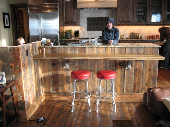 Suburban Life Journal: Reclaimed Barn wood in Kitchens . - Reclaimed Wood Furniture Denver <<<< Home Furniture Home