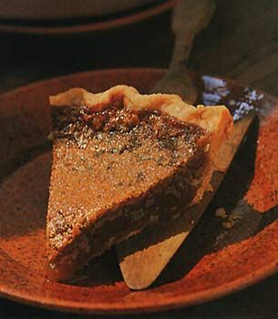 Maple Syrup Pie - had this in Quebec...best dessert on the whole trip ...