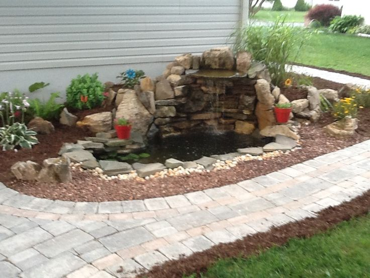 Small Pond And Waterfall Projects To Try Pinterest