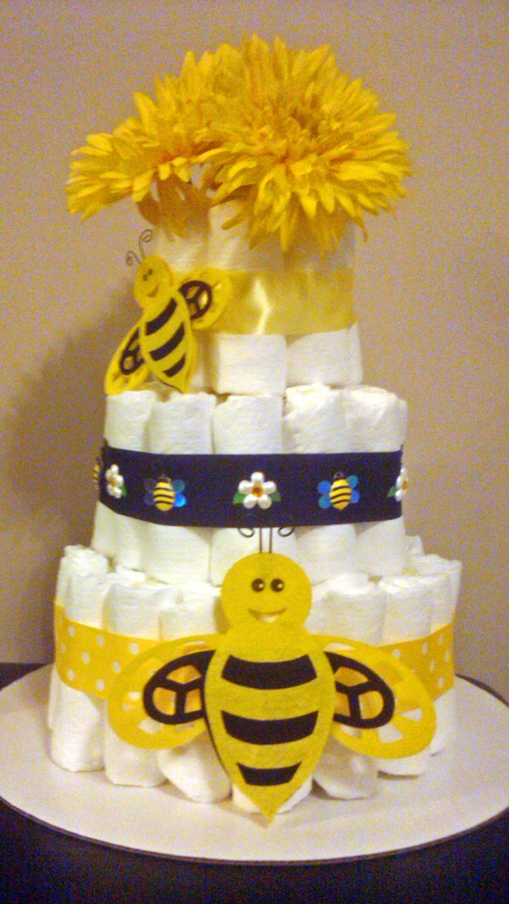 mommy to bee cake