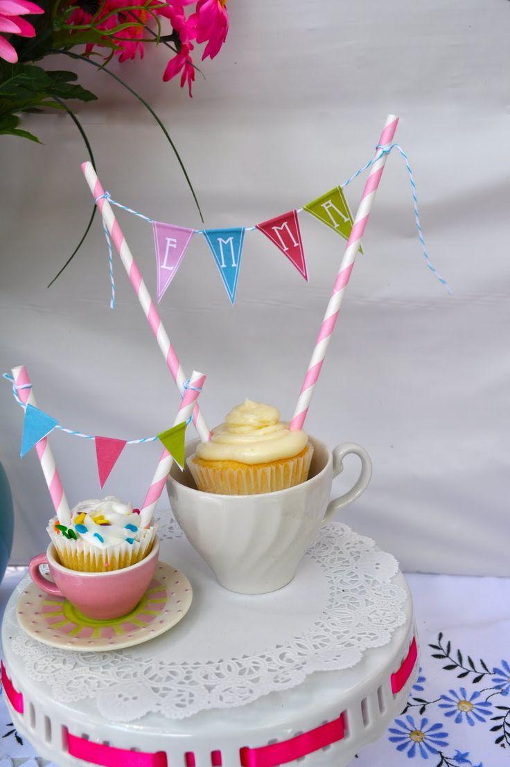 Cupcake bunting