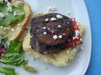 Balsamic Portobello Mushroom Burgers - Alida's Kitchen