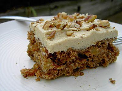 Vegan Thyme: Vegan Apple Spice Cake with Caramel Frosting (Croc...