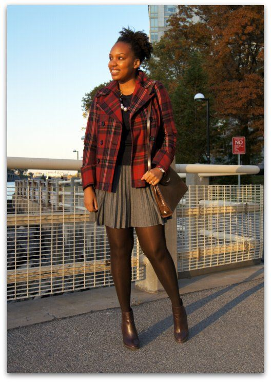 Old Navy Peacoat, Gap Sweater, Forever 21 Skirt, Juicy Couture ...