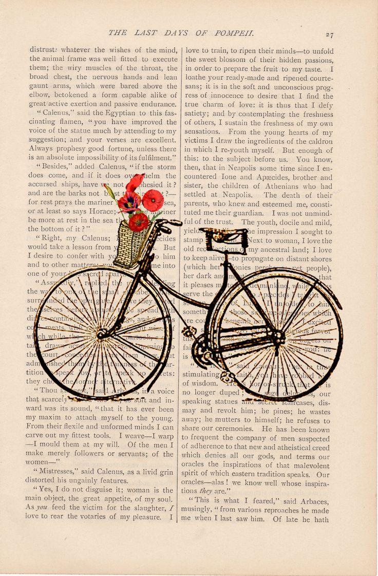 Vintage unicycle illustration