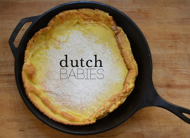 dutch baby with apple cranberry compote peach dutch baby pancake with ...