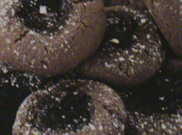 Chocolate Raspberry Thumbprints | bakery | Pinterest