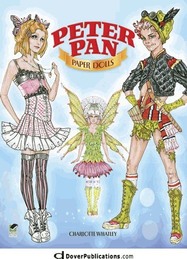 Peter Pan Paper Dolls