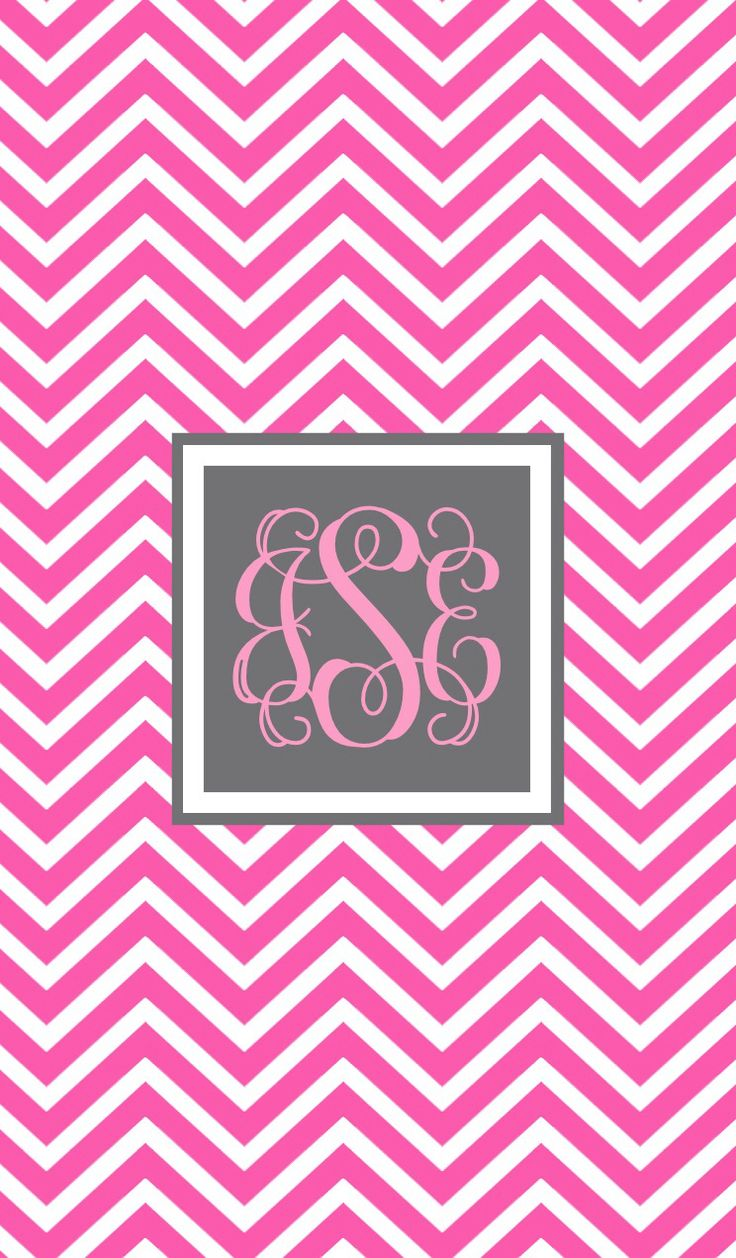 chevron monogram iphone 5 wallpaper - photo #3