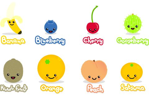 kawaii fruit google search | kawaii art | pinterest