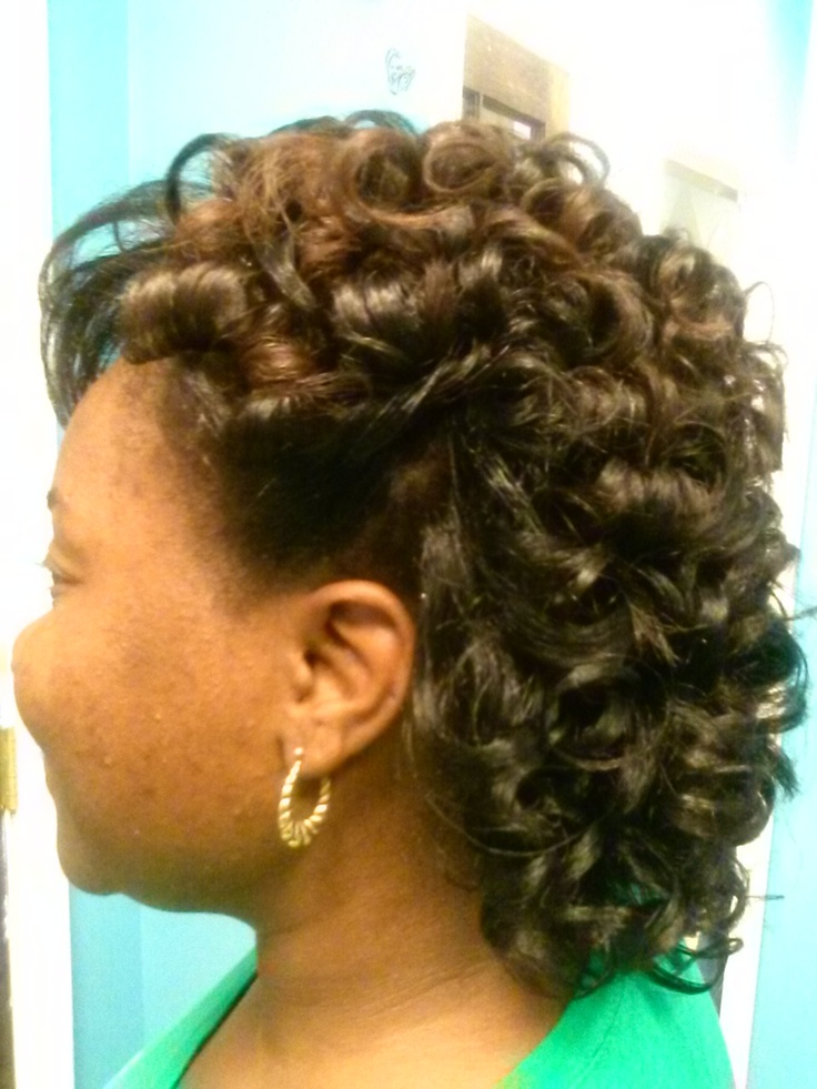 Flat Iron Press And Curl Hair Styles And Hair Products
