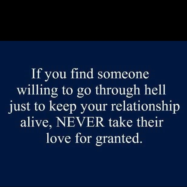 Never take them for granted <3