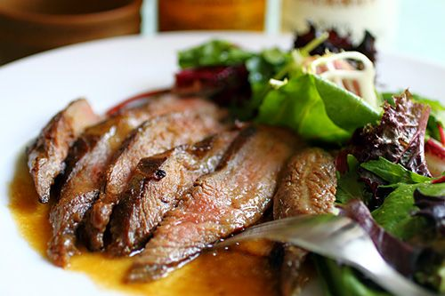 Flank Steak with Mizkan Ponzu and Miso Butter: amazingly delicious and ...