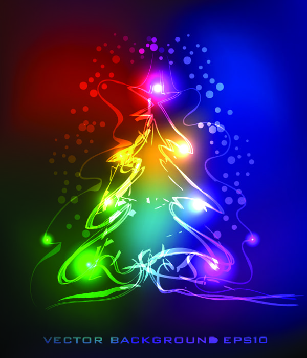 Christmas-Neon-Vector-Effects | .Neon Art | Pinterest: pinterest.com/pin/297096906639715062