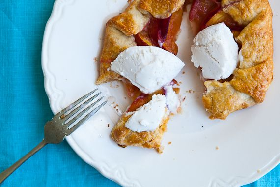Peach Crostata | The Recipe Box | Pinterest