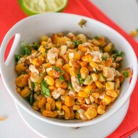 Esquites - Mexican Street Corn Salad   food   Pinterest