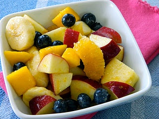 Winter Fruit Salad with Honey Lime Dressing: juice & zest of one lime ...
