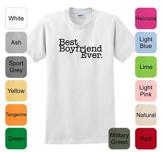 Best boyfriend ever t shirt 2000 happy sweetheart valentines day hs 1