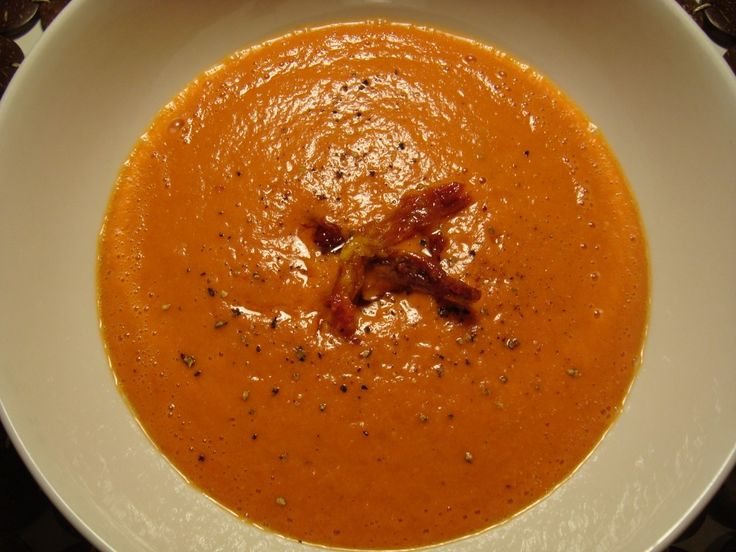 Creamy Raw Red Pepper & Tomato Soup1 | Food: Blending | Pinterest