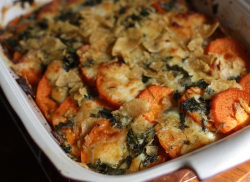 southwestern sweet potato gratin | Delicious things I will one day ma ...