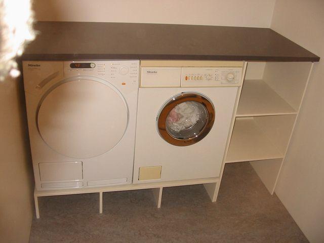 Meubel voor wasmachine  berging  Pinterest