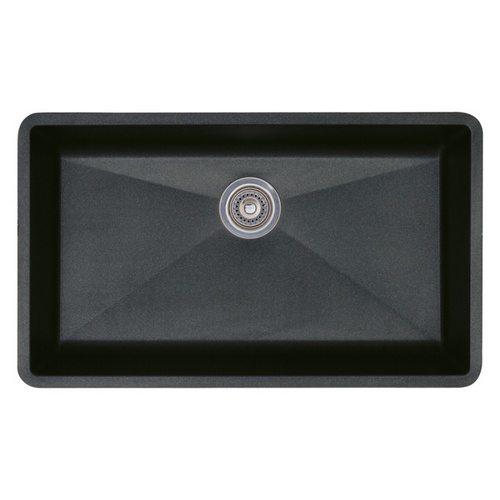 Blanco Or Franke Sinks : Zoomed: BLANCO Anthracite Single-Basin Composite Granite Undermount ...