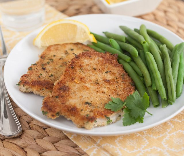 Pork Schnitzel | Cre8ive Edible Pork | Pinterest