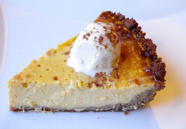 Maple Pumpkin Custard Pie by kellylovescupcakes, via Flickr