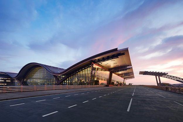 Hamad Airport in Qatar
