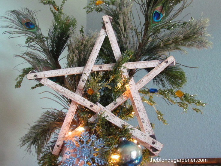 Unique Christmas Tree Topper  holidays  Pinterest