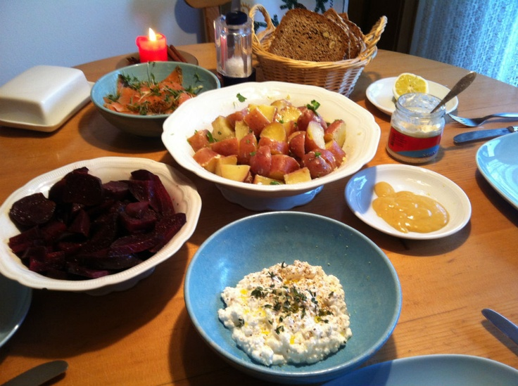 Potato Salad, Beets & Cottage Cheese Recipe by Jamie Oliver from Jamie ...