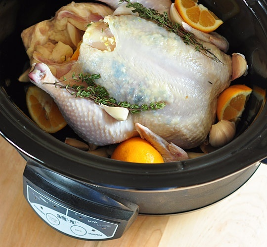 Slow Cooker Lemon Garlic Chicken | What a Crock | Pinterest