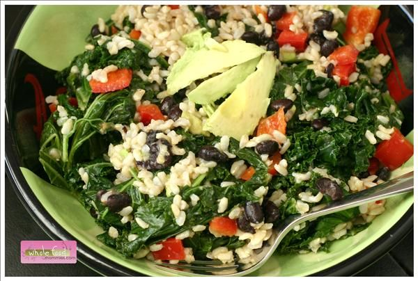 "Knockout"" Kale Rice Bowl 